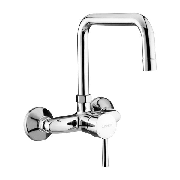 Single Lever Sink Mixer Angular Spout
