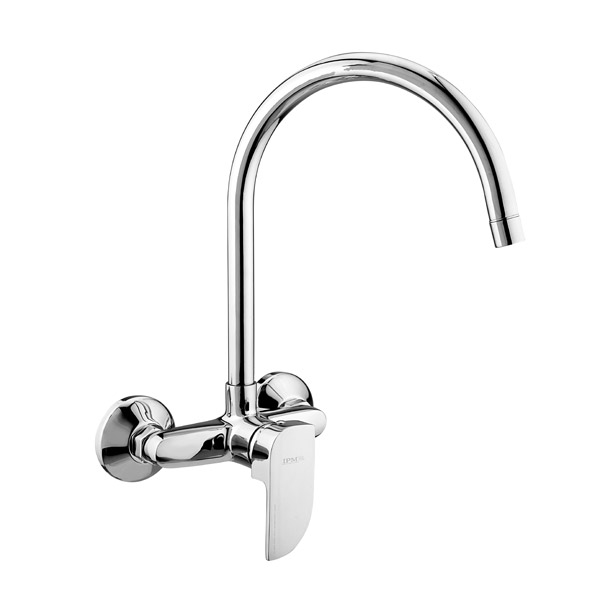 Single Lever Sink Mixer Wall Mounted