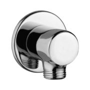 AD - 3035 Wall outlet Round with 15mm Thread to connect hand shower Pipe & Flange