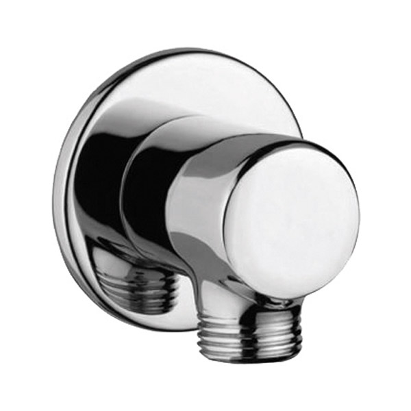 AD – 3035 Wall outlet Round with 15mm Thread to connect hand shower Pipe & Flange