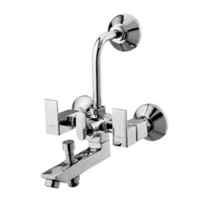 Wall Mixer Button Spout With Bend